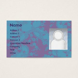 Floral - negócio cartão de visitas