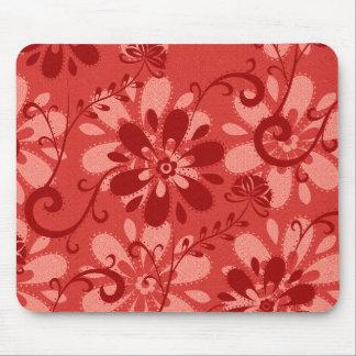 Floral vermelho abstrato
