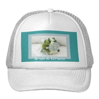 floralfantasy, noiva & noivo boné