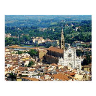Florença bonita cartão postal