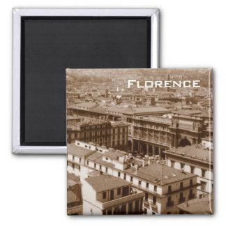 Florença Ímã Quadrado