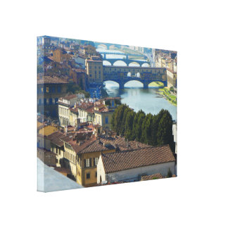 Florença Italia Impressão De Canvas Envolvidas