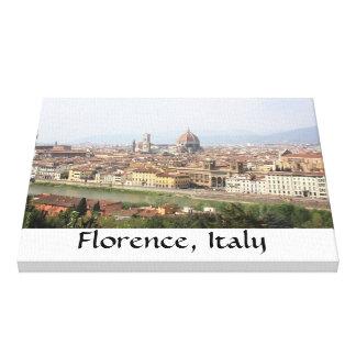 Florença, Italia Impressão De Canvas Envolvidas
