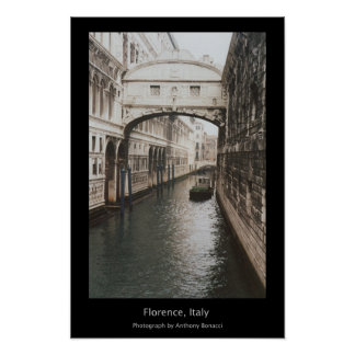 Florença, Italia Poster