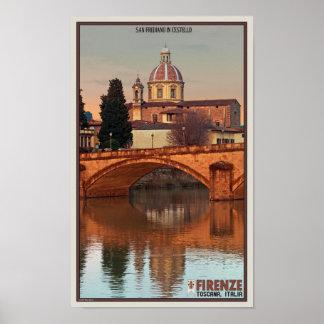Florença - San Frediano em Cestello Posteres