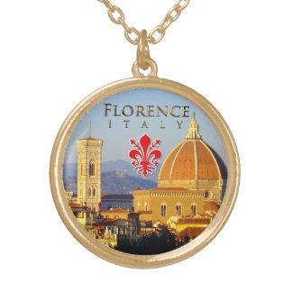 Florença - Santa Maria del Fiore Colar Com Pendente Redondo