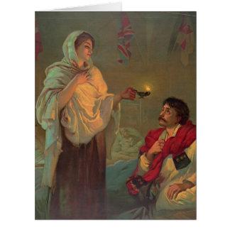 Florence Nightingale 1891 Cartão Comemorativo Grande