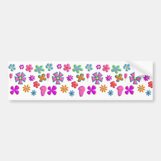 flores adesivo para carro