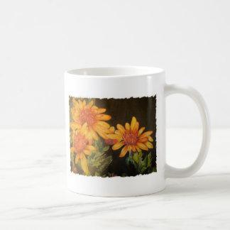 Flores da aguarela caneca