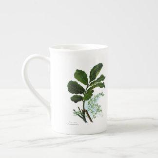 Flores da ciência NZ do vintage - Kohe Kohe Xícara De Chá