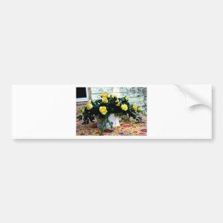 Flores da esperança adesivo para carro