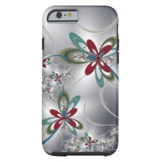 Flores de aço capa para iPhone 6 tough
