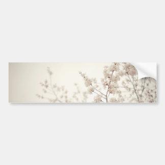 Flores de cerejeira brancas - primavera do Central Adesivo Para Carro
