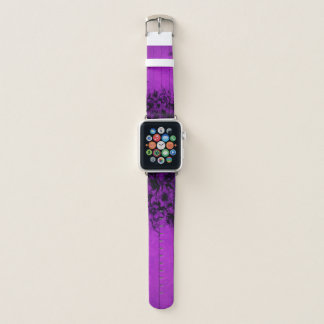 Flores de parede roxas - Apple olha