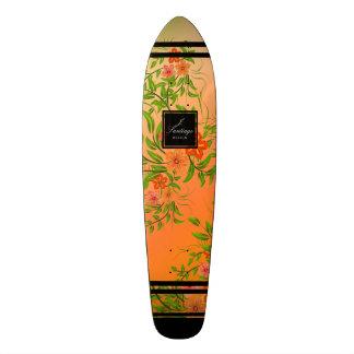 Flores Del Fuego Shape De Skate 18,4cm
