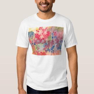 Flores delicadas do primavera t-shirt
