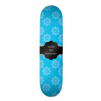 Flores do azul da avó do mundo as melhores skates