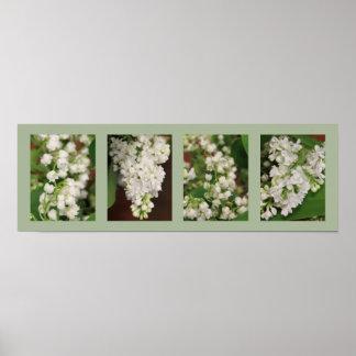 Flores do escritório impressão