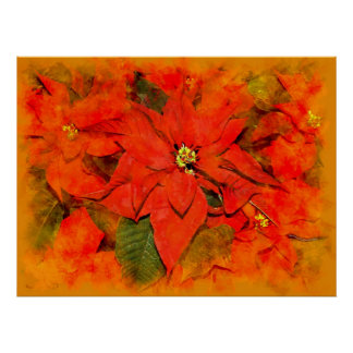 Flores do Natal Pôster