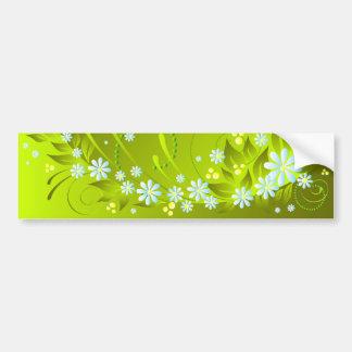 flores do primavera adesivo para carro