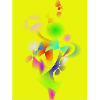 Flores do primavera escultura de foto