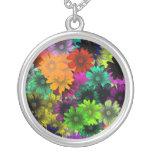 Flores do vitral bijuteria