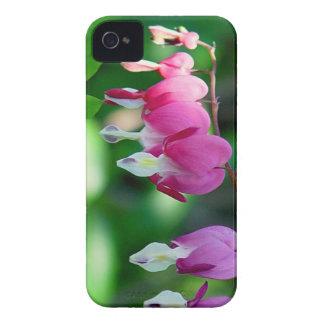 flores dos corações de sangramento iPhone 4 capas