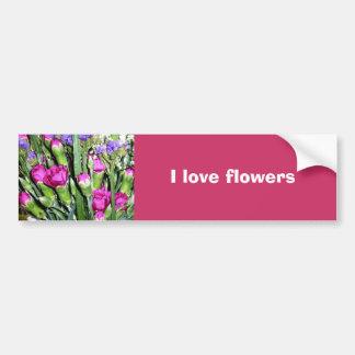 Flores dos namorados adesivos