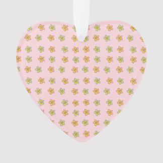 Flores felizes do coração