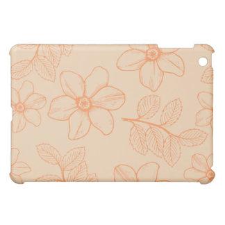 Flores florais da magnólia do jardim romântico do  capas para iPad mini