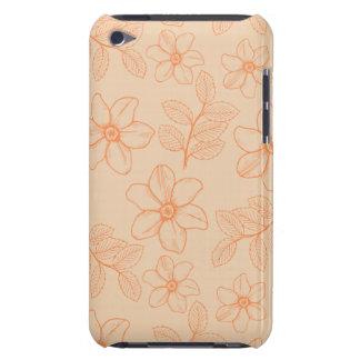 Flores florais da magnólia do jardim romântico do  capa iPod barely there