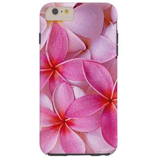 Flores havaianas chiques elegantes do Plumeria do Capas iPhone 6 Plus Tough