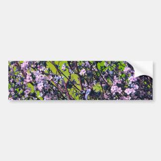 Flores nas flores adesivo para carro