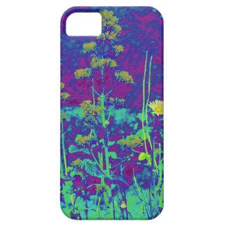 Flores no azul capas iPhone 5