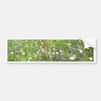 Flores selvagens adesivo para carro