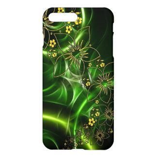 Flores verdes capa iPhone 7 plus