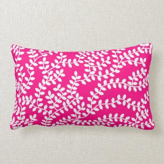 Floresta cor-de-rosa almofada lombar