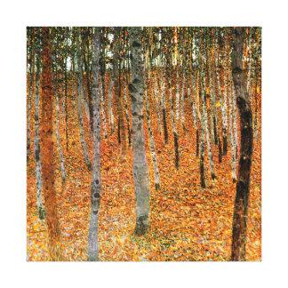 Floresta da faia pelo impressão das canvas de