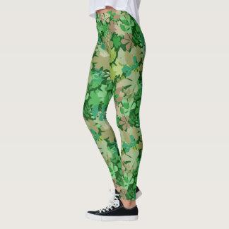 Floresta frondosa leggings