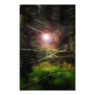 Floresta Mystical Papel Personalizado