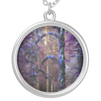 Floresta sagrado bijuteria personalizada