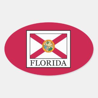 Florida Adesivo Oval