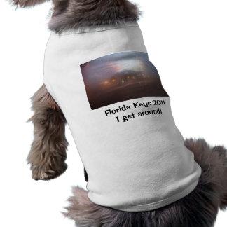 """Florida fecha 2011 - """"eu obtenho em torno """" camisa sem mangas para cachorro"""