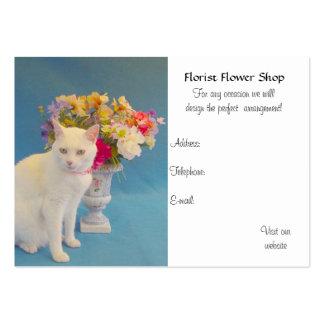 Florista Cartão De Visita Grande
