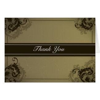 Flourish com os cartões de agradecimentos da listr
