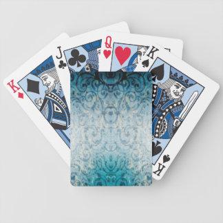 Flourish elegante desvanecido baralho de truco