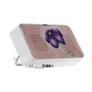 Flower Caixinhas De Som Para Mp3
