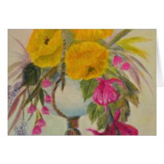 flowers.jpg de suspensão cartão