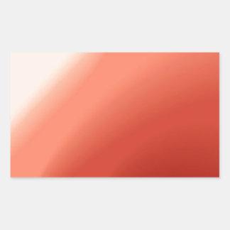 Fluxo abstrato das cores adesivos em forma retangular