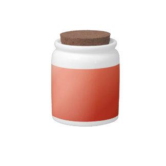 Fluxo abstrato das cores potes de doces